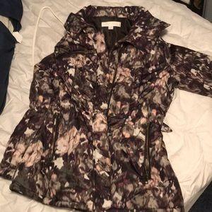 NY&Co Patterned hooded women's winter jacket
